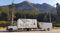 Mickeys Transfer Inc.   When it's your move... Call 403-526-3984
