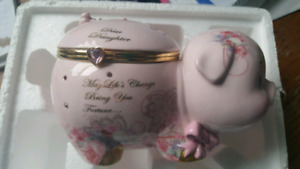 Music box piggy bank