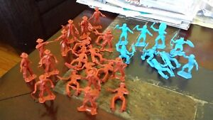 1950s Marx Cowboys and Indians figures