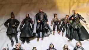 Lord of the rings Action figure lot