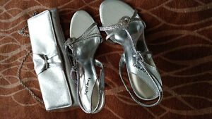 Shoes and clutch for prom