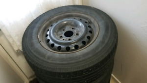 2010 Volkswagen Routan winter tires
