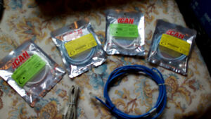 RJ45 Cat6 and Cat5 Cables