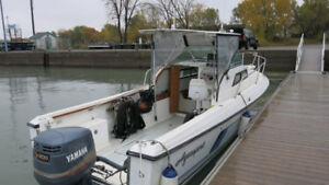 bateau aquasport 25 pieds walkaround