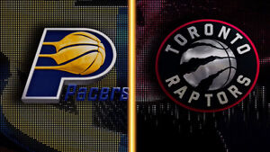 2 Tickets Sec 107m Toronto Raptors vs Indiana Pacers March 31st