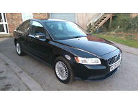 2008 VOLVO S40 T/DIESEL 2.0 S *** STUNNING EXAMPLE IN BLACK, F/S/HISTORY ***
