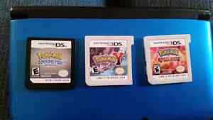 Nintendo 3DS with 3 games (no pen)