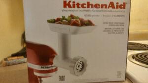 Kitchen Aid stand mixer attachment: Food grinder