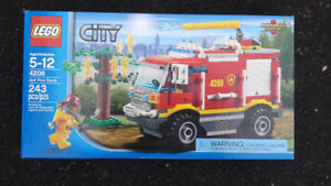 LEGO CITY... NEVER USED!! STILL IN THE BOXES Plus MEGA BLOKS