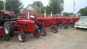 Antique Tractors, Tractor Parts, Hydraulic Cylinders, Pumps, etc