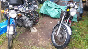 1973 Honda CB 750 project trade for gear. new glasgow
