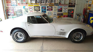 1971 White Chev Corvette Stingray Great Condition $32,500 OBO
