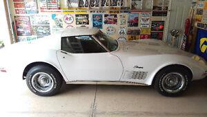 1971 White Chev Corvette Stingray Great Condition $32,500 OBO