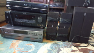 5 Disc CD changer, Surround sound, VHS/DVD Combo