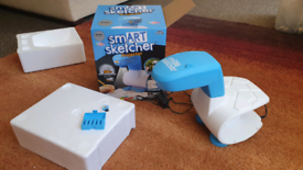 Smart sketcher projector art toy projects pictures from internet onto