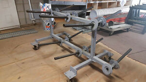 Cart for Unreeling Electrical Wire