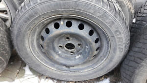 14 inch rims for Toyota Echo 2000