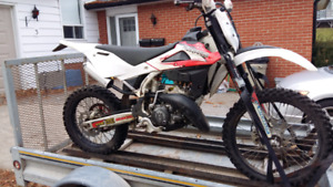 2009 husqvarna 150 wr complete rebuild with ownership
