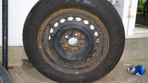 2 tires - 185-65-14
