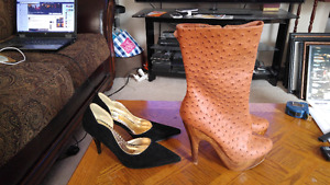 2 Brand New pairs Ladies Shoes. Left to Right size 8 & 8.5 $25 f