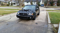 2004 Subaru Forester 2.5 XT Wagon 5 speed Manual SAFETIED $9800