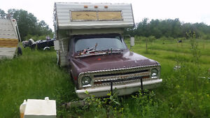 1969 chevrolet 1 ton chassis with factory camper