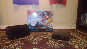 wii u 32 gb with gamepad and mariokart 8 with bonus dlc West Island Greater Montréal image 1