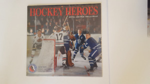 Hockey Heroes Calendars - Hall of Fame produced
