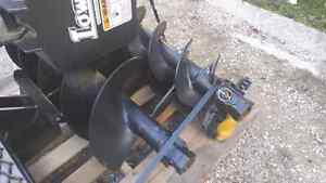 Skid Steer Hydraulic Auger and Attachments