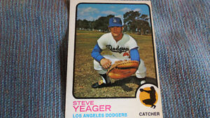 Steve Yeager baseball card(rookie)
