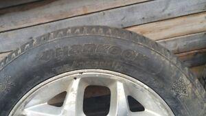 5x100 bolt pattern Mag et pneus 195/60R15 Mag and winter tires Gatineau Ottawa / Gatineau Area image 2