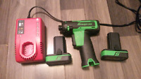Snap-on impact drill