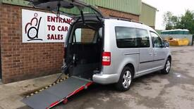 2013 VW Caddy Maxi Life Disabled Wheelchair Accessible Vehicle AUTOMATIC Diesel