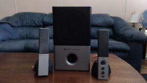 3 Sets Of Altec Lansing 2,1 Speaker Systems $40ea or $70 For Two