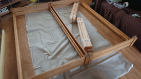 Stackable single bed frames only