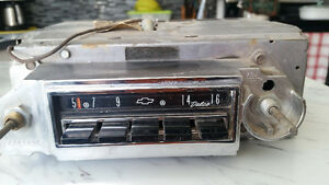 1964 or 63 and 1961 Chevrolet factory radios