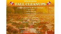 10% OFF Fall Cleanups! Call Today