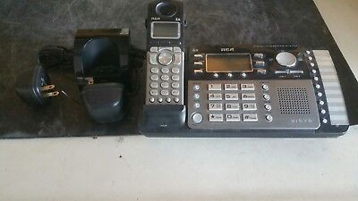 Rca 25250re1-a Dect 6.0 Digital Answering System Cordless Phone Handset