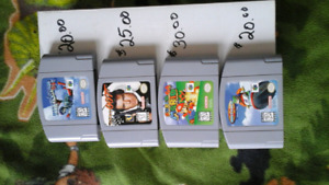 Cassettes Nintendo  64