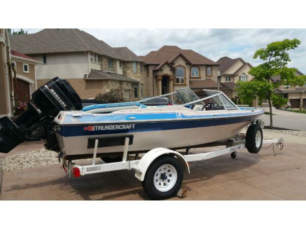 Used 1989 Thunder Craft Boats Bowrider