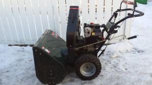Craftsman 12.5hp 33 inch snowblower  LIKE NEW!!
