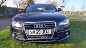 Audi A4 2.0 TDI S LINE Good / Bad Credit Car Finance (black) 2009