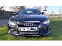 Audi A4 2.0 TDI S LINE Good / Bad Credit Car Finance (black) 2009