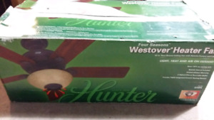 BNIB Hunter Heater Fan