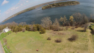 WATERFRONT LOT ON HAY BAY - APPROX 300' OF WATERFRONT