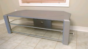 Large tv stand, grey, $50