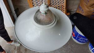 White Hanging Ceiling Light Fixture