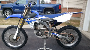 2014 YZ450F Lots of Upgrades and Extras (mint)