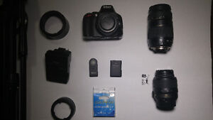 Nikon DSLR D5100 with Kit lens and many more