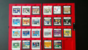 Various Nintendo 3DS and DS games